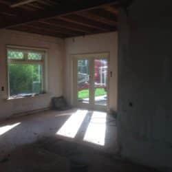 Renovatie woonkamer
